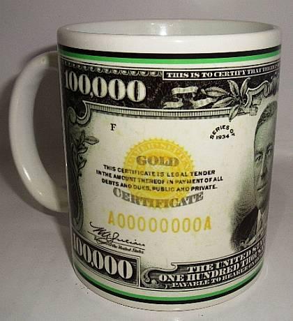 Taza Exclusiva Dolar